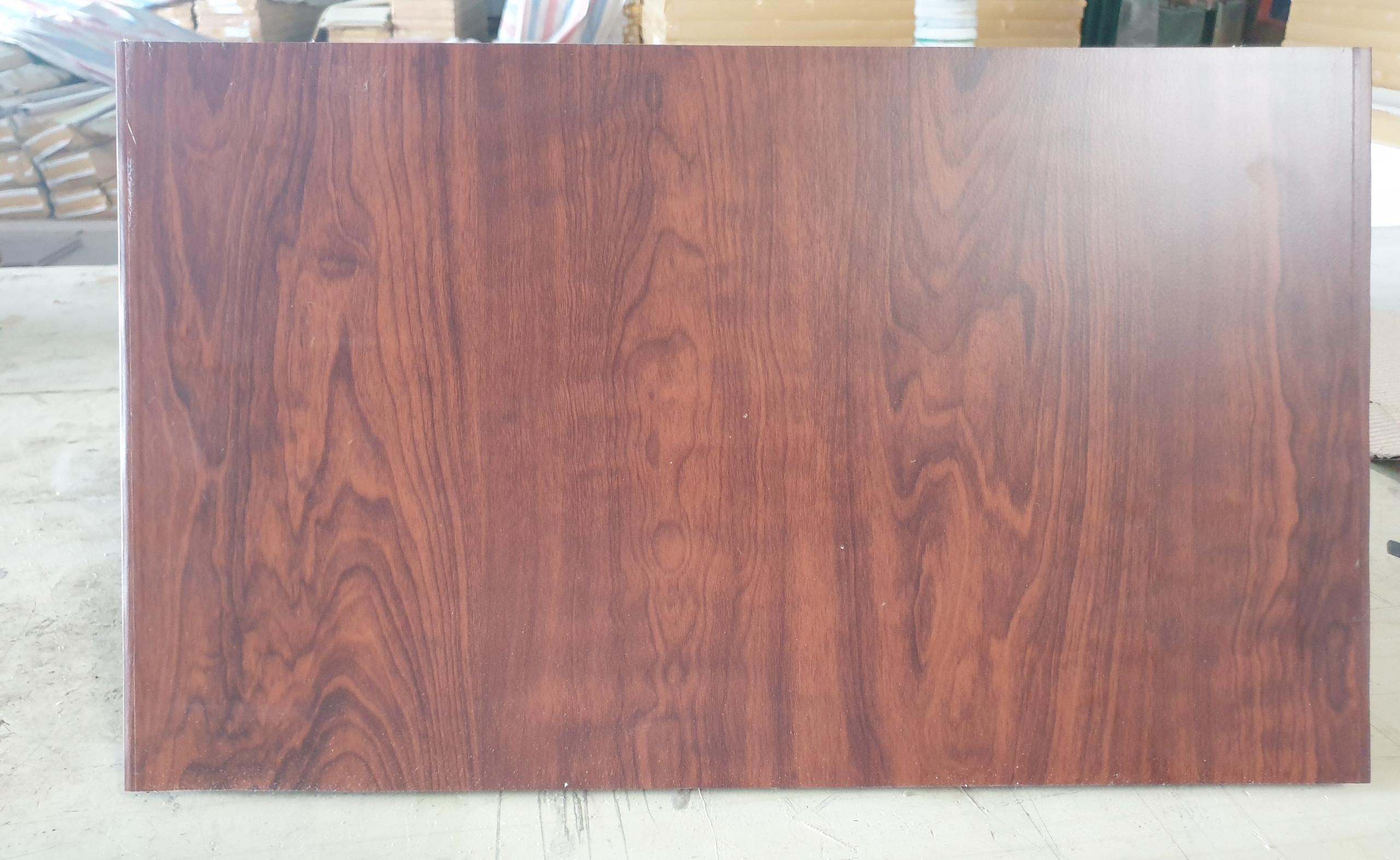 Tấm tủ gỗ nhựa sinh thái EPWood Cabinet C400 màu vân gỗ óc chó
